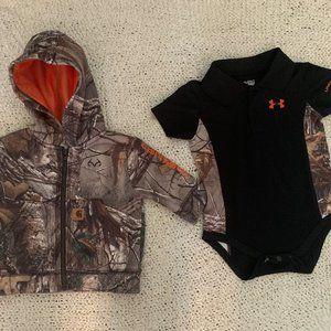 Infant Camo Bundle - Jacket and Onsie